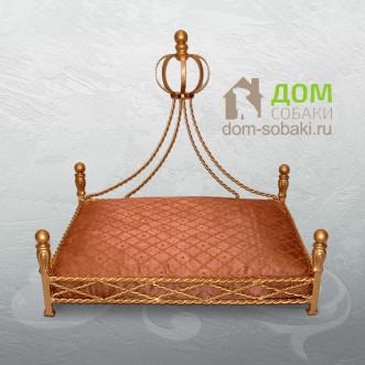 Кованный лежак Алладин — купить по выгодной цене в Москве и Московской области с доставкой, фото
