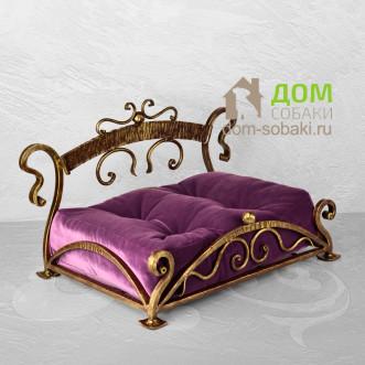 Кованый лежак Фридерика — купить по выгодной цене в Москве и Московской области с доставкой, фото