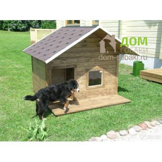 Будка для собаки с лежанкой — купить по выгодной цене в Москве и Московской области с доставкой, фото