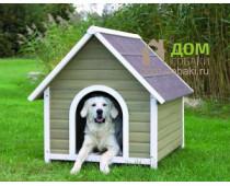 Что такое собачья будка. Виды и модели собачьих будок.