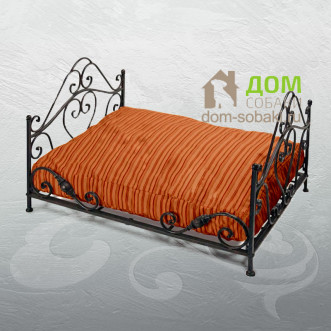 Кованый лежак Кристофер — купить по выгодной цене в Москве и Московской области с доставкой, фото
