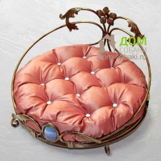 Кованый лежак Саманта — купить по выгодной цене в Москве и Московской области с доставкой, фото