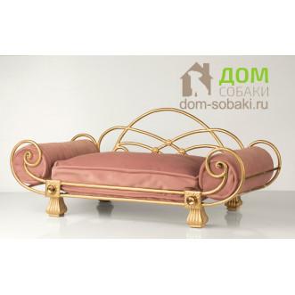 Кованый диванчик Джордан — купить по выгодной цене в Москве и Московской области с доставкой, фото