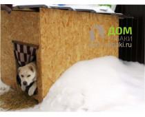 Будка для собаки из OSB
