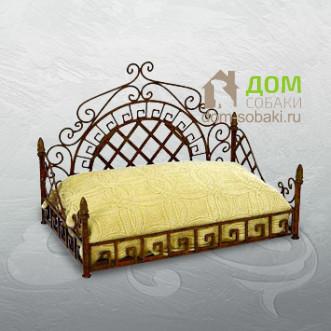 Кованый лежак Мариотт — купить по выгодной цене в Москве и Московской области с доставкой, фото