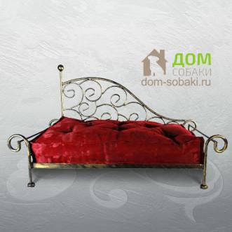 Кованый лежак Амелия — купить по выгодной цене в Москве и Московской области с доставкой, фото