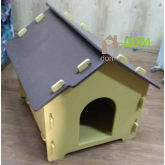 будка из фанеры для собаки