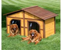 Теплые зимние будки для собак