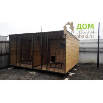 Вольер для двух собак 4х3х2 м — купить по выгодной цене в Москве и Московской области с доставкой, фото