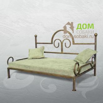 Кованый лежак Эвелина — купить по выгодной цене в Москве и Московской области с доставкой, фото