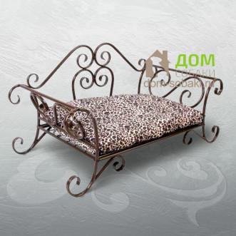 Кованый лежак Патрицио — купить по выгодной цене в Москве и Московской области с доставкой, фото