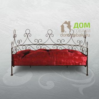 Кованый лежак Арианна — купить по выгодной цене в Москве и Московской области с доставкой, фото
