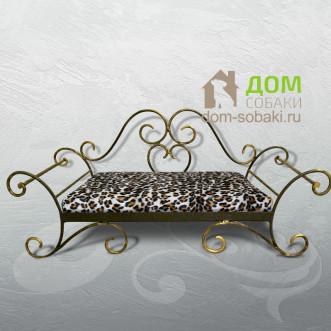 Кованый Лежак Венеция — купить по выгодной цене в Москве и Московской области с доставкой, фото