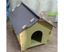 Будка из фанеры для собаки или кошки купить