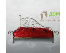 Кованый лежак Амелия