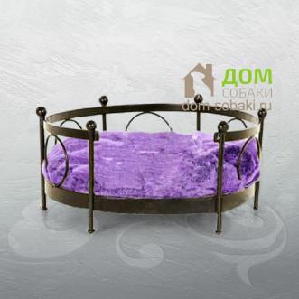 Кованый лежак Дженифер — купить по выгодной цене в Москве и Московской области с доставкой, фото