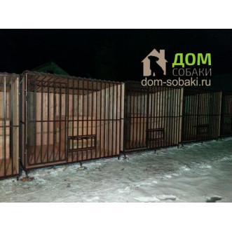 Вольер для собаки с будкой ШОК цена! — купить по выгодной цене в Москве и Московской области с доставкой, фото