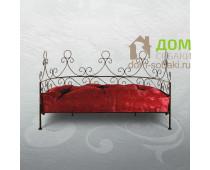 Кованый лежак Арианна