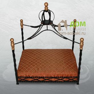 Кованый лежак Николь — купить по выгодной цене в Москве и Московской области с доставкой, фото