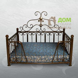 Кованый лежак Стефани — купить по выгодной цене в Москве и Московской области с доставкой, фото