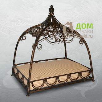 Кованый лежак Даниэлла — купить по выгодной цене в Москве и Московской области с доставкой, фото