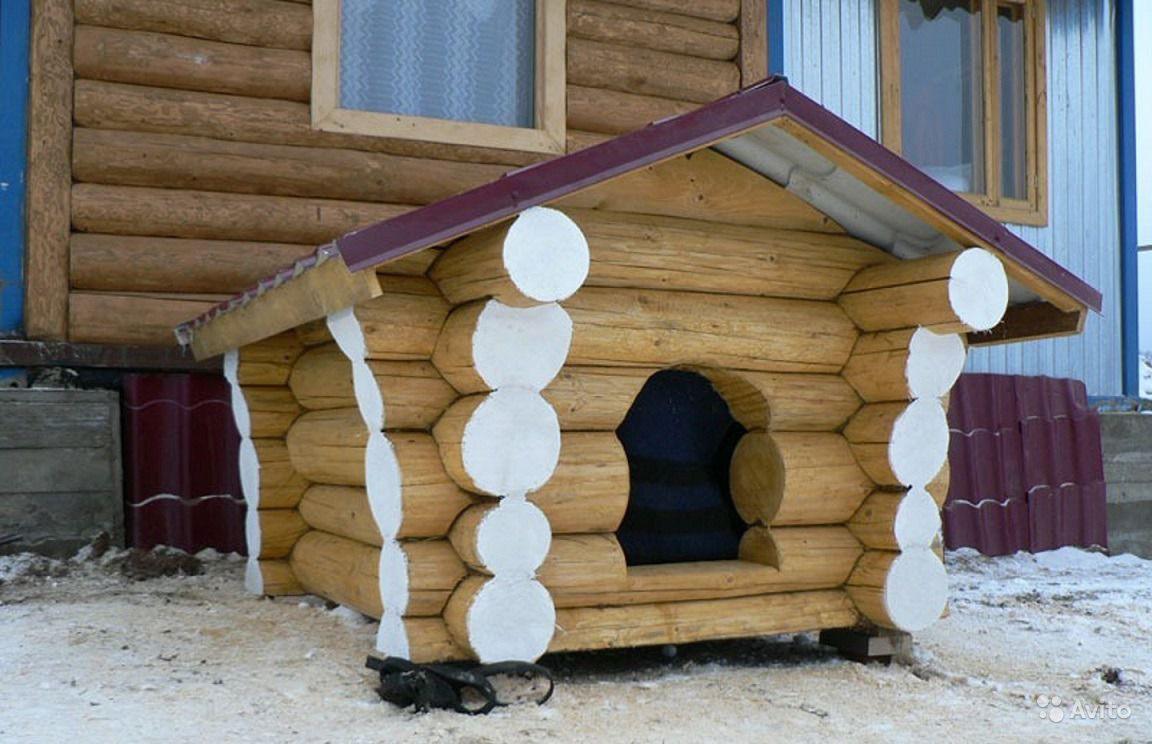 Собачья будка своими руками размеры и чертежи фото 343