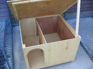 Изготовление крыши для будки алабаю